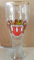 Rothenburg 0.5 Liter Wheat Beer Glass