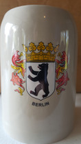 Berlin 0.5L Ceramic Beer Mug