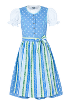 Girls Kinder Dirndl Blue
