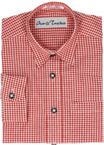 Boy's Shirt 'Quinn' Red