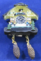 Magnet Cuckoo Alpenhaus Band  The magnet looks just like a Alpenhaus Cuckoo Clock.  Looks great on your refrigerator. Size: 3 x 2 x .5inch