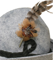 German Hat Feather