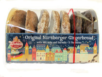Lebkuchen Nuremberg Christmas Burggraf 3-sort pack Cookies (plain/ iced/ chocolate)