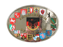 States of Germany crest sticker