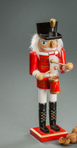 Nutcracker Red Drummer