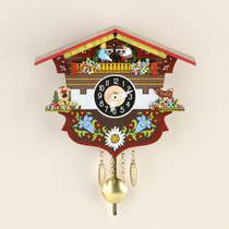 Small Bavarian Clock with Pendel