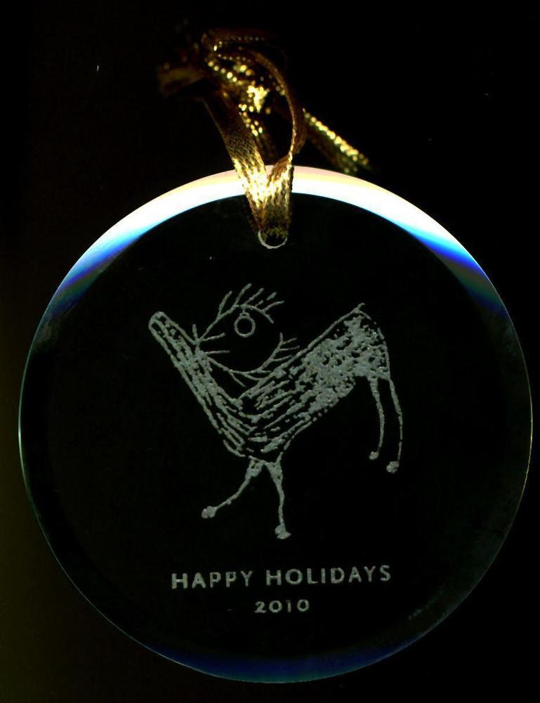 Diamond Ring Christmas Ornament