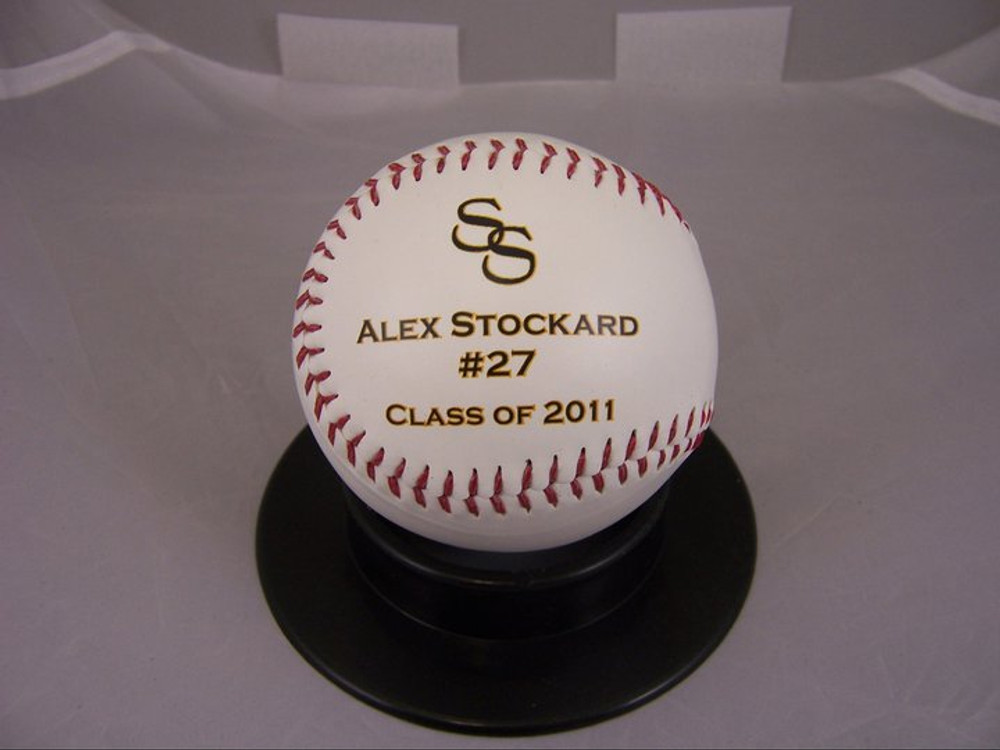 Class of 2010 Personalized High School baseball award