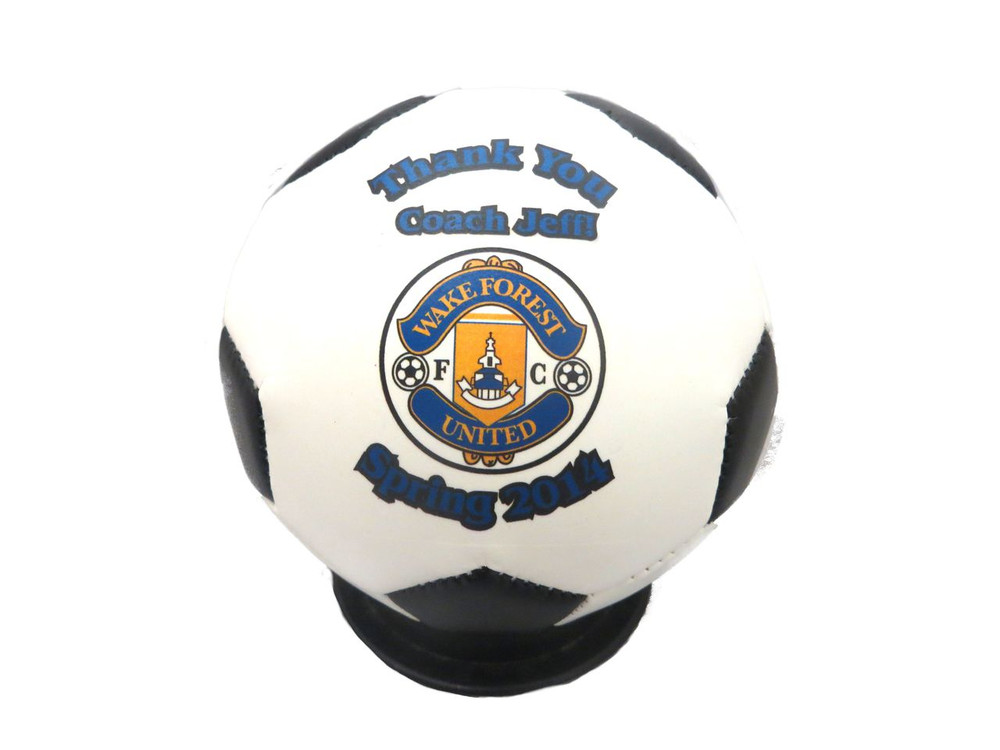 Custom Mini Wake Forest Futbol Thank You Coach Gift