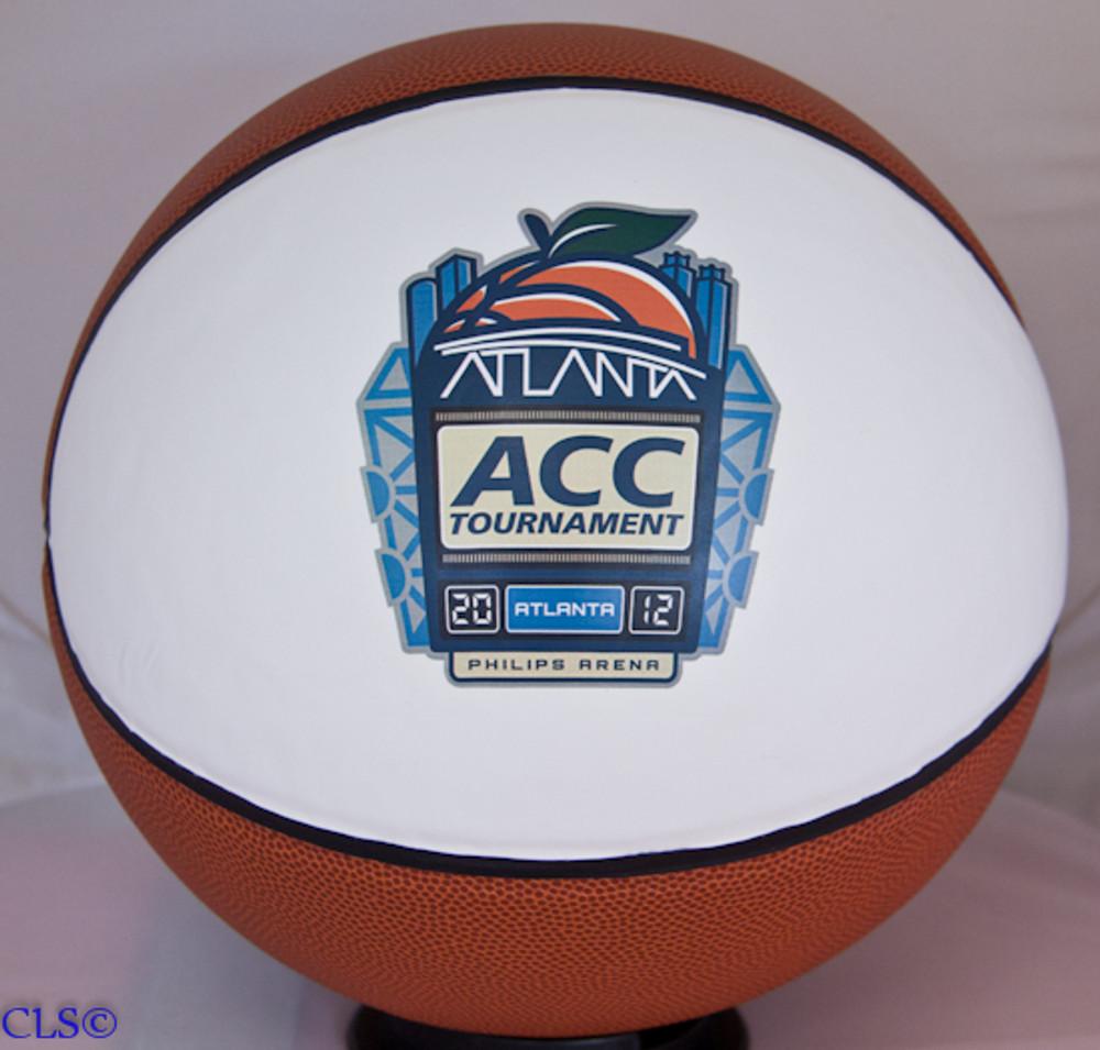 Customized Fullsize ACC Tournament Basketball