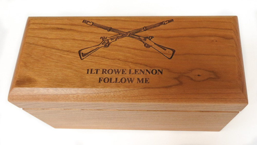Our 3 ball personalized wood boxes can be great retirement gifts for military personnel, law enforcement, or other public servants.