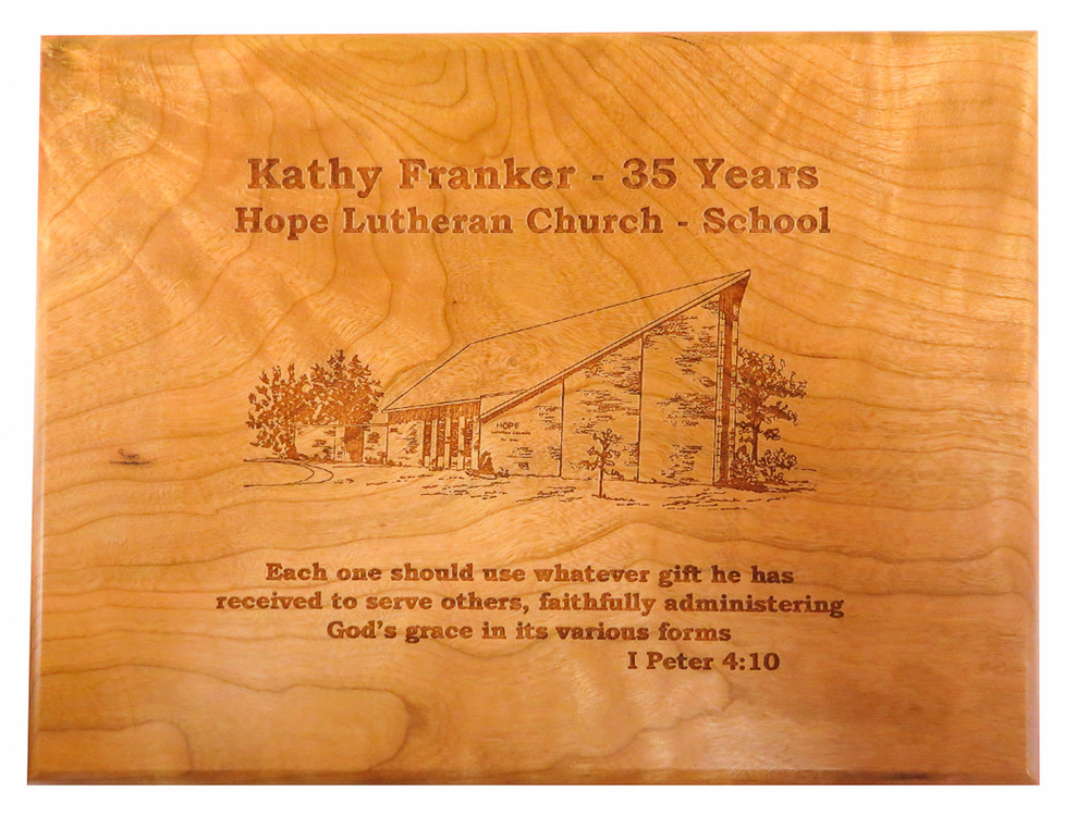 Anniversaries and special events are forever engraved into our beautiful cherry wood boxes.