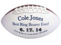 Best Ring Bearer Ever Custom Football