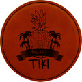 High class, Tiki bar?  invest in these long lasting coasters and put your brand and no one else's in front of your customers.