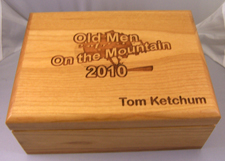 Personalized Wood Boxes