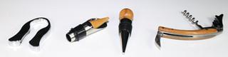 Matching bamboo wine box tool set!