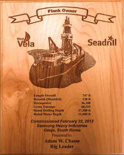 Personalized Plank Owner Plaques Custom Wood Plank Owner