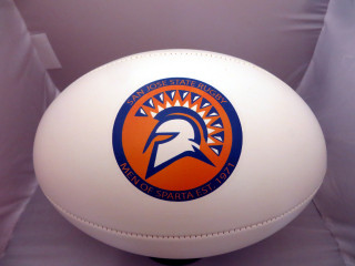 Personalize your own Rugby ball with your school  logo