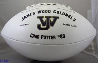 Graduation Personalized Football