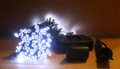 120 White LEDs Solar Christmas / Holiday String Light