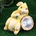 Solar Bunny Carrot Spotlight