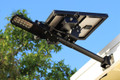 Multifunctional Solar Commercial Grade Residential Light 18 SMD LEDs - 450 Lumens