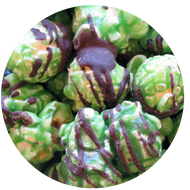 Delicious Mint Chocolate Chip popcorn
