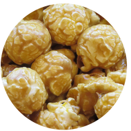 Gourmet Caramel Popcorn from Broadway Popcorn, popped fresh every day in WI