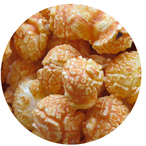 Jalapeño flavored popcorn