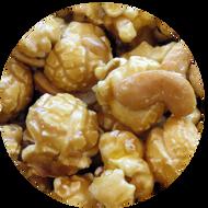 Caramel Cashew specialty popcorn