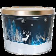 2-Gallon Crystal Evening Popcorn Tin