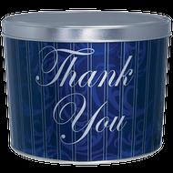 """2-Gallon """"Thank You"""" Design Popcorn Tin"""