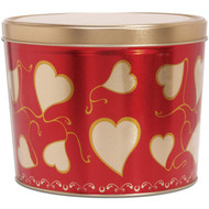 2 Gallon Valentine's Day Sweetheart Tin
