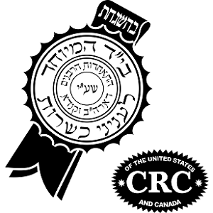CRC - Central Rabbinical Congress - Hisachdus Harabanim - Large Kashrus Symbol - DoctorVicks.com