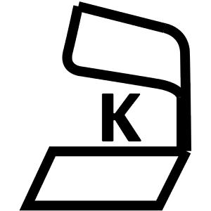 Kof-K - Large Kashrus Symbol - DoctorVicks.com