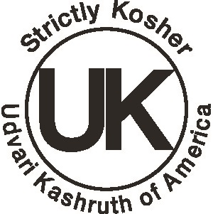 UK Udvari Kashrus Of America - Small Kashrus Symbol - DoctorVicks.com