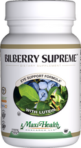 Maxi Health - Bilberry Supreme - Eye Formula - 60/120 MaxiCaps - DoctorVicks.com