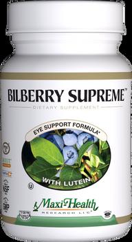 Maxi Health - Bilberry Supreme - Eye Formula - 60/120 MaxiCaps - DoctorVicks.com