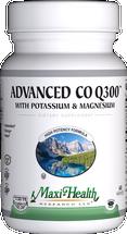 Maxi Health - Advanced Co Q 300 mg With Potassium & Magnesium - 60 MaxiCaps - DoctorVicks.com