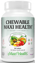 Maxi Health - Chewable Maxi Health - Multivitamin & Mineral - Cherry Flavor - 90 Chewies - New - DoctorVicks.com http://maxihealth.com/product/chewable-maxi-health#prettyPhoto
