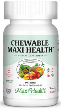 Maxi Health - Chewable Maxi Health - Multivitamin & Mineral - Cherry Flavor - 90 Chewies -  DoctorVicks.com