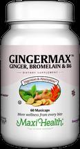 Maxi Health - Gingermax - Digestive & Nausea Formula - 60 MaxiCaps - DoctorVicks.com