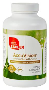 Zahler's - AccuVision - Eye Formula - 120 Capsules - DoctorVicks.com
