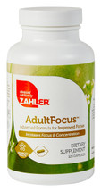 Zahler's - AdultFocus - Improved Focus Formula - 120 Capsules - DoctorVicks.com