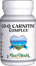 Maxi Health - Co Q Carnitine Complex - 60 MaxiCaps - DoctorVicks.com