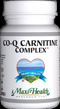 Maxi Health - Co Q Carnitine Complex - 60 MaxiCaps - DoctorVicks.com
