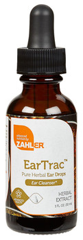 Zahler's - EarTrac - (Formerly EarRelief) - 1 fl oz - Front - DoctorVicks.com