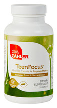 Zahler's - TeenFocus - Improved Focus Formula - 120 Capsules - DoctorVicks.com