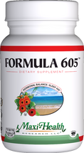 Maxi Health - Formula 605 - Melatonin 3 mg - 60/120 MaxiCaps - DoctorVicks.com