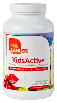 Zahler's - KidsActive - For ADHD - 180 Chewies - DoctorVicks.com